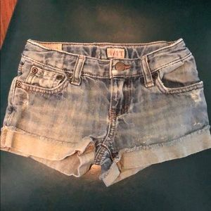 Girls polo shorts like new